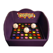 Colors 123 Toss Carnival Game